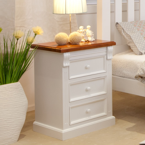 JANE BEDSIDE TABLE | Wood World Furniture