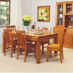 HIGH QUALITY TASSIE OAK JOE DINING SUITE