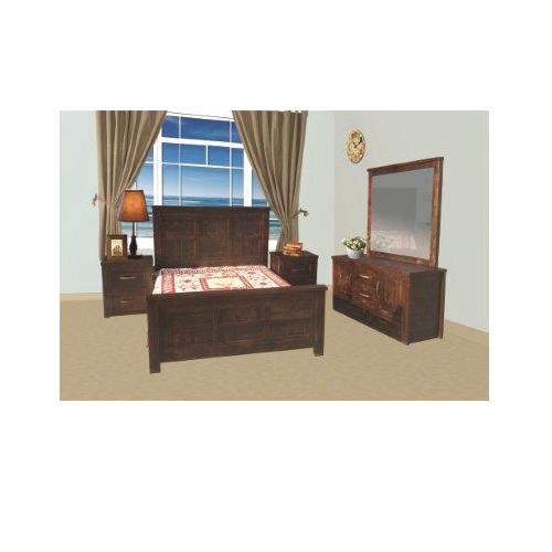 JOEL 5 PCE QUEEN BEDROOM SUITE   | Wood World Furniture