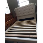 FABRIC QUEEN SIZE BEDFRAME