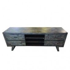 SUSAN V HARDWOOD TV TABLE