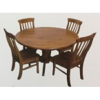 WILLIAM 5PCE ROUND DINING SUITE