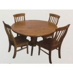 WILLIAM 7PCE ROUND DINING SUITE