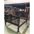 007 Queen bed | Wood World Furniture