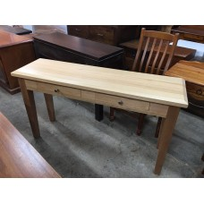 TASSIE OAK 1350W  HALL TABLE [SPECIAL]