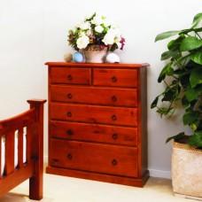 002 TALLBOY 6 drawers