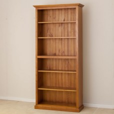 LOCAL MADE PINE BOOKCASE CL 7 x 3