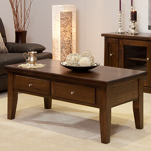 LOCAL MADE TASSIE OAK DINH COFFEE TABLE | Wood World Furniture