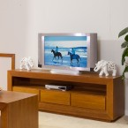 TASSIE OAK HIGH QUALITY HARDWOOD ELKE TV UNIT