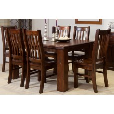 RUSTIC 1500W 7PCE DINING SUITE [DISCONTINUED]