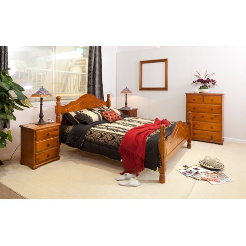 PROVINCIAL 4PCE DOUBLE BEDROOM SUITE | Wood World Furniture