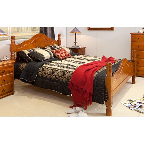 PROVINCIAL KING BED (OUT OF STOCK) | Wood World Furniture