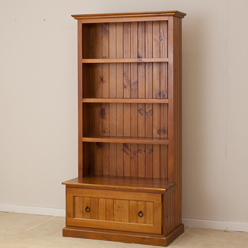 LOCAL MADE PINE COMBO BOOKCASE 6 x 3