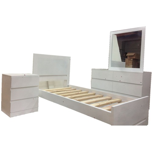 BOSTON 3PCE SINGLE SUITE | Wood World Furniture