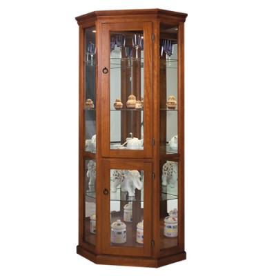 WCCD FULL GLASS CORNER DISPLAY UNIT / DISPLAY CABINET