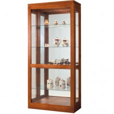 TASSIE OAK CHINA DISPLAY CABINET