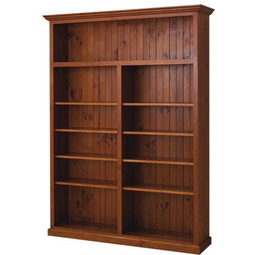 LOCAL MADE PINE BOOKCASE CL 7 x 5 | Wood World Furniture