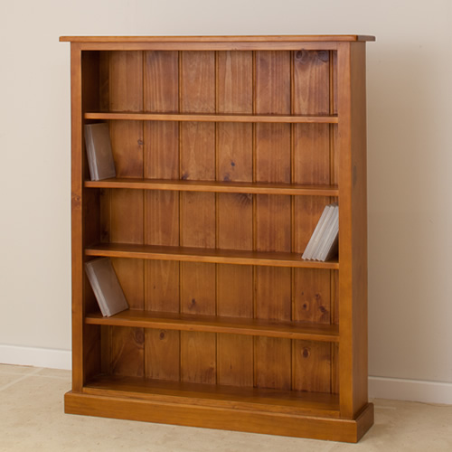 LOCAL MADE PINE DVD BOOKCASE