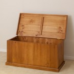 CL SOLID WOOD BLANKET BOX