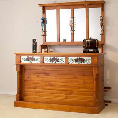 LOCAL MADE PINE HOME BAR MBR-PBM