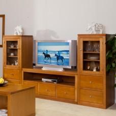 LOCAL MADE TASSIE OAK 3PCE TV UNIT