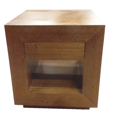 TASSIE OAK LAMP TABLE T15-LT500W  [LOCAL MADE]