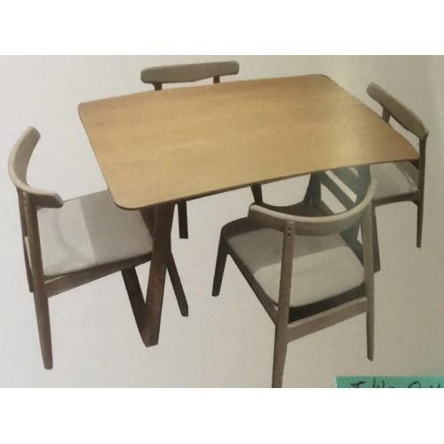 AMERICAN OAK ARVID 1200W  DINING SUITE   | Wood World Furniture