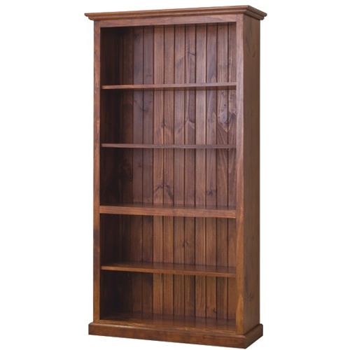CL 6x 3  LOCAL MADE PINE BOOKCASE