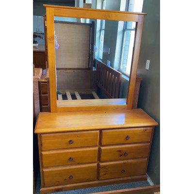 CRYSTAL DRESSER WITH MIRROR