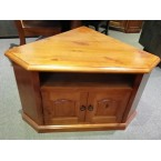 SOLID PINE CORNER TV UNIT