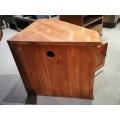 SOLID PINE CORNER TV UNIT | Wood World Furniture