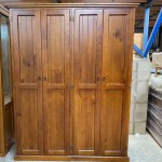 [CUSTOM MADE EXAMPLE] PINE CABINET OLD ENGLISH CMS_Wardrobe2012B
