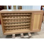 [CUSTOM MADE EXAMPLE] LOCAL MADE Tassie OAK WINE RACK / Wine CABINET 20T-WINE12