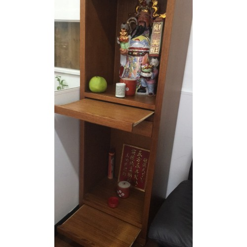 [CUSTOM MADE EXAMPLE] LOCAL MADE  TASSIE OAK BUDDHISM CABINET | Wood World Furniture