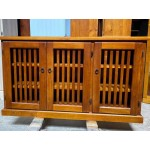 [CUSTOM MADE EXAMPLE] SOLID PINE SHOE CABINET CMS_SCAB_21AP