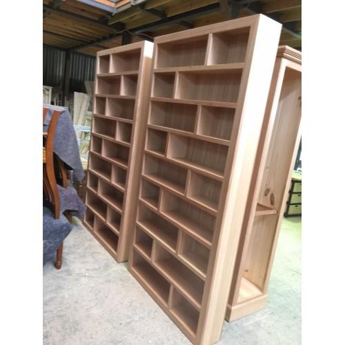 [CUSTOM MADE EXAMPLE] LOCAL MADE TASSIE OAK DVD RACK | Wood World Furniture