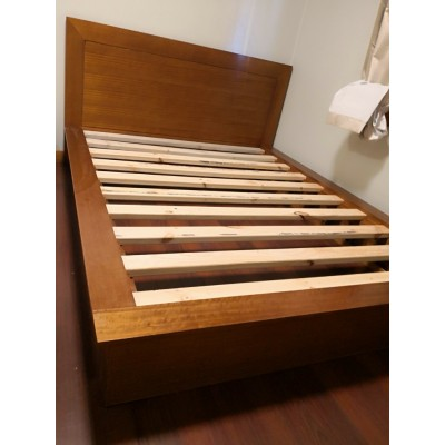 [Custom Made Example] Local made Tassie Oak Queen Bed V20