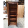 [CUSTOM MADE EXAMPLE] LOCAL MADE PINE CABINET OLD ENGLISH | Wood World Furniture
