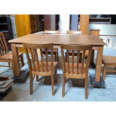 [Custom Made Example] Local made Dining Table Suite HIGH QUALITY Tassie OAK HARDWOOD CM_TO21TABSU