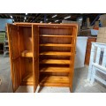 [CUSTOM MADE EXAMPLE] LOCAL MADE PINE SHOE CABINET CMS_SCAB_20SE