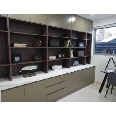 [CUSTOM MADE EXAMPLE] COMBO BOOKCASE / DISPLAY SHELVING UNITS / Cabinet