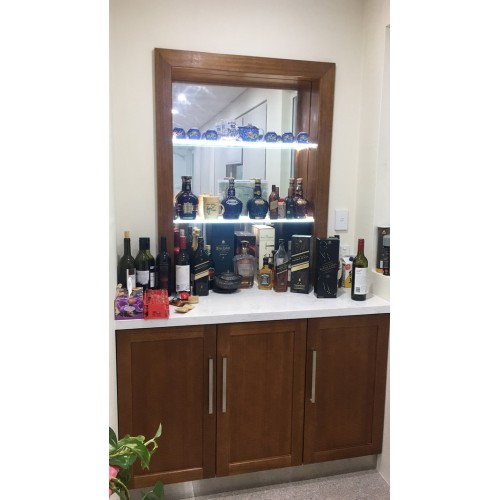 [CUSTOM MADE EXAMPLE] WINE CABINET | Wood World Furniture
