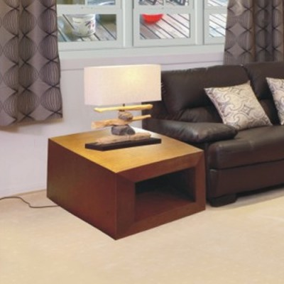 TASSIE OAK HIGH QUALITY HARDWOOD ELKE LAMP TABLE