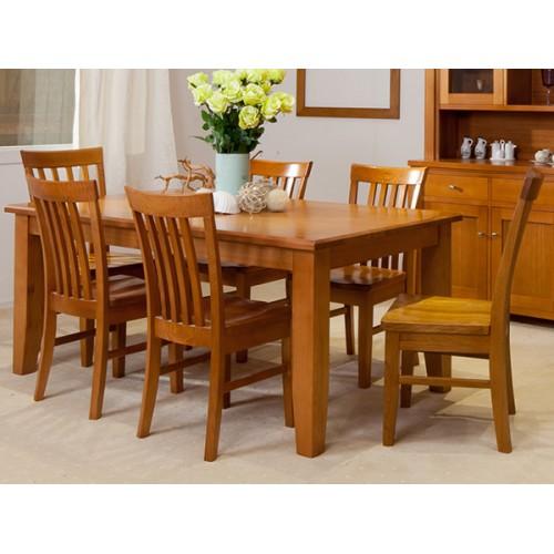 FAIRHOLM HIGH QUALITY TASSIE OAK DINING SUITE  | Wood World Furniture