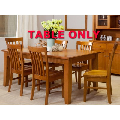 TASSIE OAK FAIRHOLM HIGH QUALITY  DINING TABLE ONLY