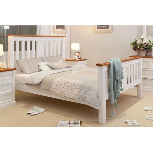 JANE DOUBLE SIZE BED | Wood World Furniture
