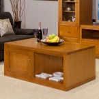 JOE TASSIE OAK HIGH QUALITY HARDWOOD COFFEE TABLE