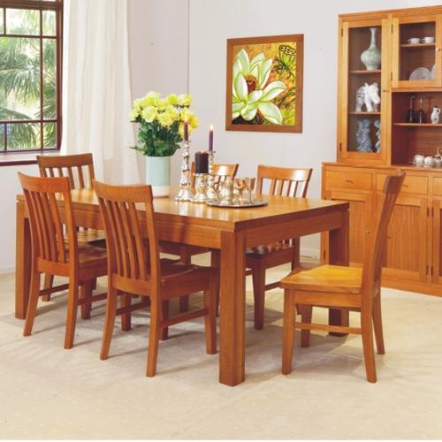 HIGH QUALITY TASSIE OAK JOE DINING SUITE  | Wood World Furniture