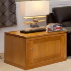 JOE TASSIE OAK HIGH QUALITY HARDWOOD LAMP TABLE