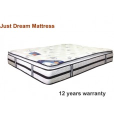JUST DREAM LATEX MATTRESS (12 YEAR WARRANTY)